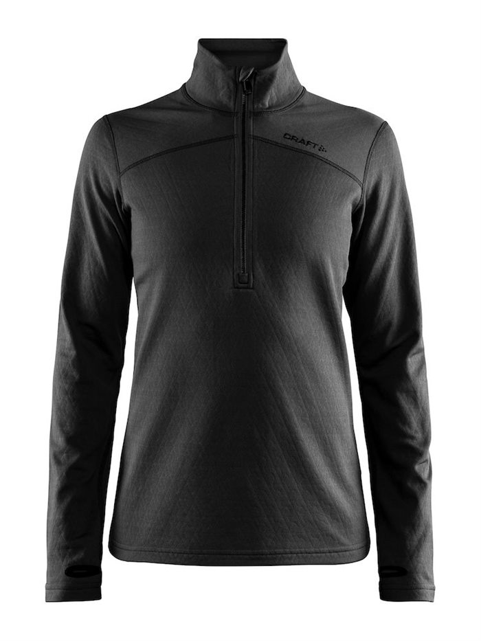 DAME MODEL Midtlayer 1/4 zip.