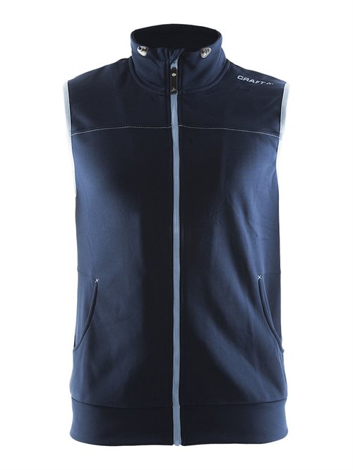 Leisure vest HERRE Sort