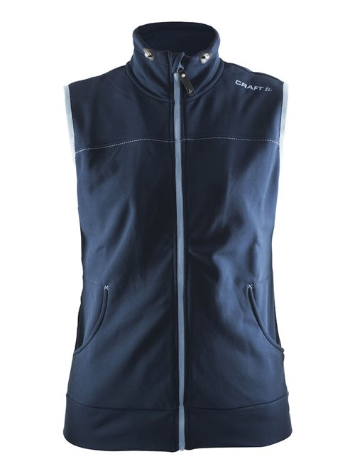 Leisure vest DAME Sort